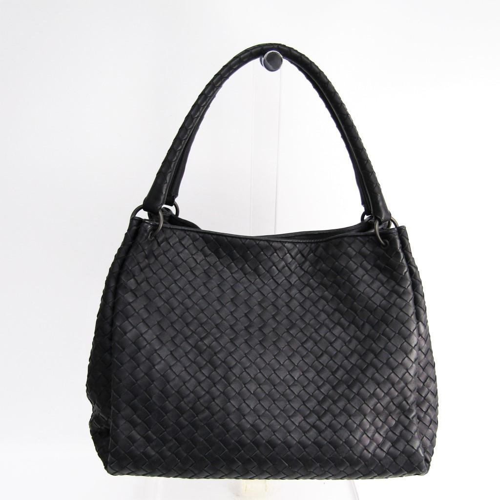 Image is loading Bottega-Veneta-Intrecciato-Women-039-s-Leather-Handbag- 6e23608412