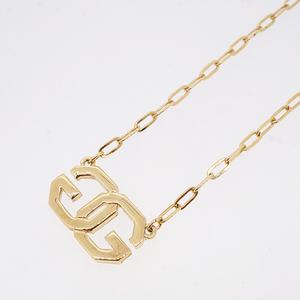 Auth Givenchy G Mark Logo Motif Gold Plating Women,Men,Unisex Pendant (Gold)