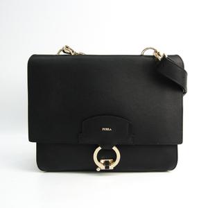 Furla Scoop Women's Leather Shoulder Bag Black,Gray,White
