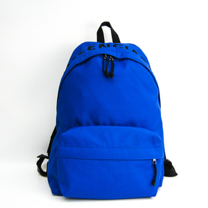 Balenciaga Wheel 507460 Unisex Nylon,Canvas Backpack Blue