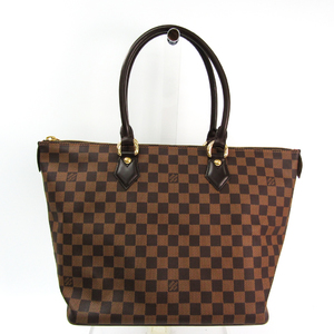 Louis Vuitton Damier Saleya MM N51182 Women's Handbag Ebene