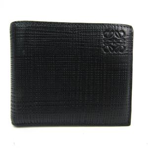 ロエベ(Loewe) メンズ レザー 財布(三つ折り) ブラック