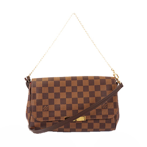 Auth Louis Vuitton Damier N41276 Women's Handbag,Shoulder Bag Ebene