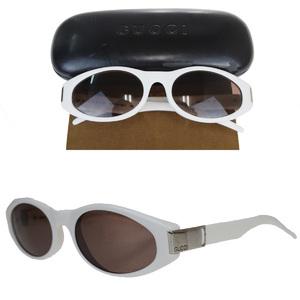 Gucci Sunglasses White GG2411 / S