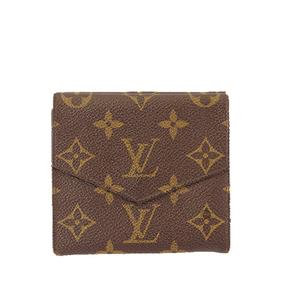 ルイヴィトン 三つ折り財布 モノグラム ポルトモネビエカルトクレディ M61660