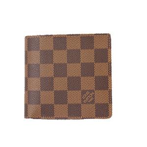 Auth Louis Vuitton Damier Portefeiulle Marco N61675 Men's Wallet (bi-fold)