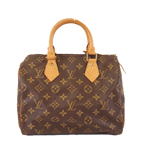 Auth Louis Vuitton Monogram Speedy 25 M41109 Women's Handbag