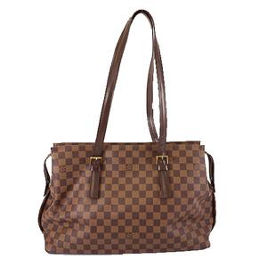 Auth Louis Vuitton Damie Chelsea N51119 Women's Totebag,Shoulder Bag Ebene