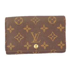 Auth Louis Vuitton Monogram Portefeuille Tresor M61736 Women's Wallet (bi-fold)