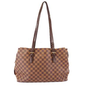 Auth Louis Vuitton Damier Chelsea N51119 Women's Shoulder Bag,Tote Bag Ebene