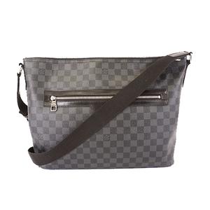 Auth Louis Vuitton Damier Graphite Mick MM N41106 Men's Messenger Bag