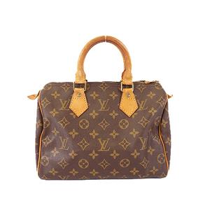 Auth Louis Vuitton Monogram Speedy 25 M41109 Women's Handbag