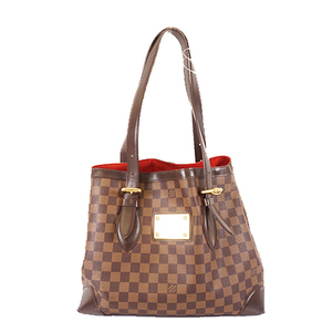 Auth Louis Vuitton Damier Hampstead MM N51204 Women's Handbag,Shoulder Bag