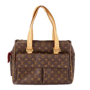 Auth Louis Vuitton Monogram Multipli Cite M51162 Women's Handbag,Tote Bag