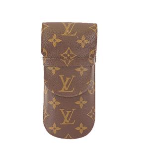 Auth Louis Vuitton Monogram M62970  Soft Eyeglass Case