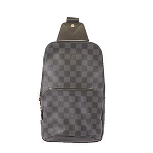 Auth Louis Vuitton Damier Graphite Avenue Sling Bag N41719 Men's Sling Bag
