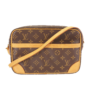 Auth Louis Vuitton Monogram Trocadero27 M51274 Women's Shoulder Bag