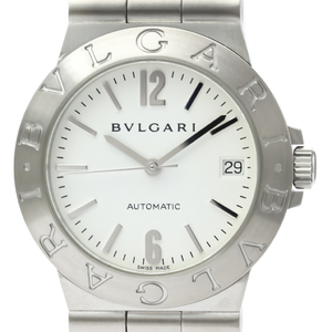 Bvlgari Diagono Automatic Stainless Steel Men's Dress Watch LCV35S