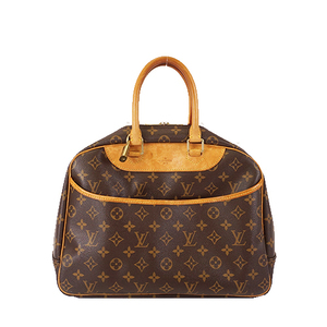 Auth Louis Vuitton Monogram M47270 Women's Handbag Brown