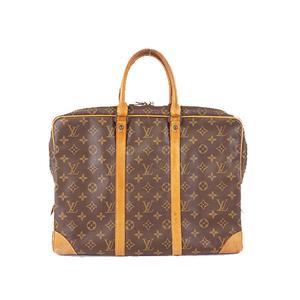 Auth Louis Vuitton  Briefcase Monogram  Porte Documents Voyag