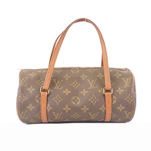 Auth Louis Vuitton Monogram Papillon 26 M51366 Women's Handbag Brown