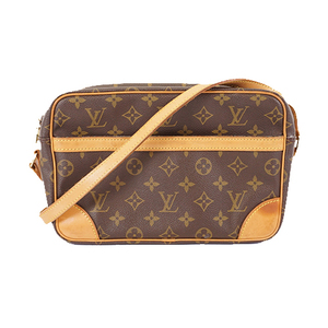 Auth Louis Vuitton Monogram Trocadero27 M51274 Women's Shoulder Bag