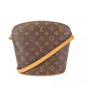 Auth Louis Vuitton Monogram Drouot M51290 Women's Shoulder Bag