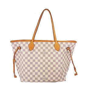 Auth Louis Vuitton Damier Azur N41361 Women's Shoulder Bag,Tote Bag