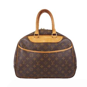 Auth Louis Vuitton Monogram M47270 Women's Handbag Brown