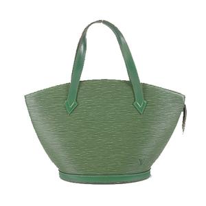Auth Louis Vuitton Epi M52274 Handbag Borneo Green