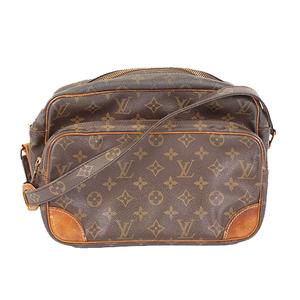Auth Louis Vuitton Monogram Nile M45244 Women's Shoulder Bag