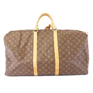 Auth Louis Vuitton Monogram M41422 Men,Women,Unisex Boston Bag