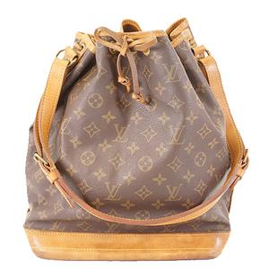 Auth Louis Vuitton Monogram M42224 Women's Shoulder Bag Brown