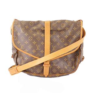 Auth Louis Vuitton Monogram M42254 Women's Shoulder Bag