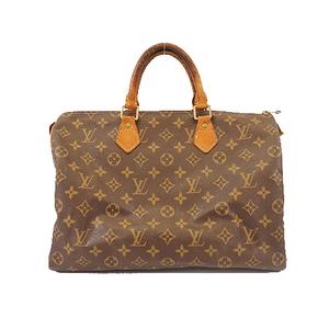 Louis Vuitton Monogram Speedy 35 M41107 Women's Boston Bag Handbag Brown