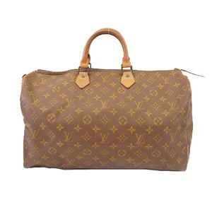 Auth Louis Vuitton Handbag Monogram Speedy 40 M41106