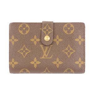 Louis Vuitton Monogram M61663 Women's Monogram Wallet (bi-fold) Brown