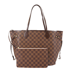 Auth Louis Vuitton Damier N51105 Women's Tote Bag Ebene,Rose Ballerine