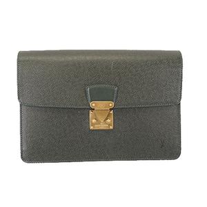 Auth Louis Vuitton Taiga Pochette Clad M30194 Men's Clutch Bag Episea