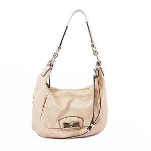 Auth Coach 2way Bag Women's Handbag,Shoulder Bag Beige