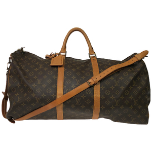Louis Vuitton Monogram Keepall Bandouliere 60 M41412 Women's Boston Bag Monogram