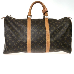 Louis Vuitton Monogram Keepall 50 M41426 Women's Boston Bag Monogram