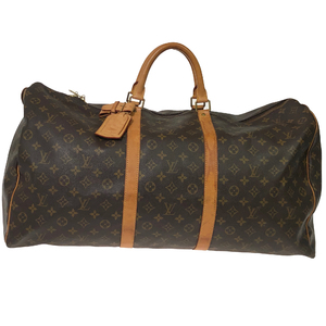 Louis Vuitton Monogram Keepall 60 M41422 Women's Boston Bag Monogram