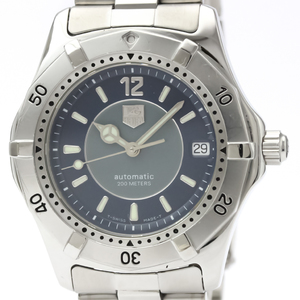 Tag Heuer 2000 Series Automatic Stainless Steel Men's Sports Watch WK2114