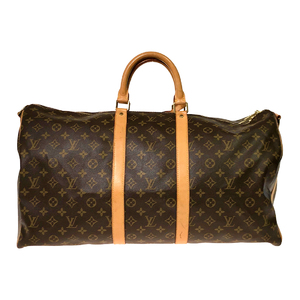 Louis Vuitton Monogram Keepall Bandouliere 55 M41414 Women's Boston Bag Monogram