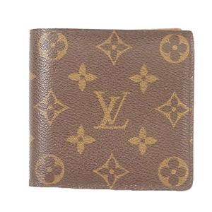 ルイヴィトン 二つ折り財布 モノグラム ポルトフォイユマルコ M61675