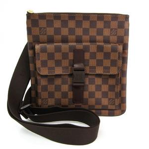 ルイ・ヴィトン(Louis Vuitton) ダミエ ポシェット・メルヴィール N51127 ユニセックス ショルダーバッグ エベヌ