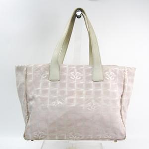 シャネル(Chanel) ニュートラベルライン A15991 レディース ニュートラベルライン トートバッグ ライトピンク,オフホワイト
