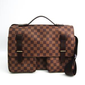 ルイ・ヴィトン(Louis Vuitton) ダミエ ブロードウェイ N42270 ユニセックス ショルダーバッグ エベヌ
