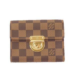 ルイヴィトン 三つ折り財布 ダミエ ポルトフォイユコアラ N60005
